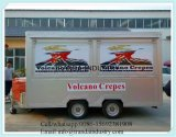 China Supply Coffee Vending Mobile Food Cart