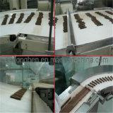 Máquina de embalagem de wafers com máquina de arrumação