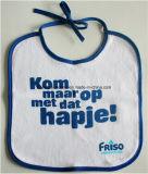 Il disegno personalizzato prodotti dell'OEM ha stampato la busbana francese del bambino dell'alimentatore del Drool del bambino del Terry del cotone