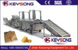 Cadena de producción de las patatas fritas del compuesto de la capacidad grande máquina de las patatas fritas del compuesto