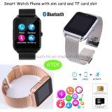 Nieuwste Sport/het Slimme Horloge van de Pols van Dgital Bluetooth met de Groef van de Kaart SIM