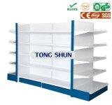 スーパーマーケットの家具のゴンドラの表示鋼鉄棚か棚付け
