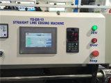 Máquina pulidora del borde rectilíneo de cristal del control del PLC de 10 motores