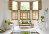 Hangzhou Modern Customized Interior Wooden Security Window Shutters