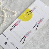 Decalque lindo de papel de desenho animado para roupas