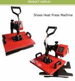 Prensa del calor de los zapatos de la fábrica