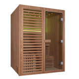 Monalisa 나무로 되는 젖은 증기 건조한 Sauna 룸 (M-6038)