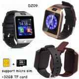 Bluetooth 3.0 SIM 카드 구멍 (DZ09)를 가진 지능적인 시계 전화