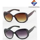 Óculos de sol de vinda novos do frame da forma com diamantes, Ce FDA