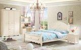 Muebles del dormitorio con arriba brillante para los adolescentes