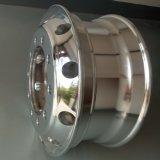 Jantes de roda de caminhão de alumínio forjado de alumínio (22.5 * 9.00)
