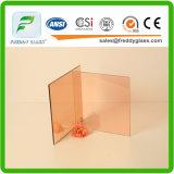 4-12mmのピンクの反射フロートガラス