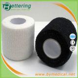 Sport elastici della mano del cotone facile della rottura che legano nastro