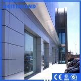 Painel de parede composto de alumínio PVDF para decoração de outsite