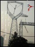riga di trasporto di energia 230kv torretta dell'acciaio della grata