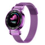 De nieuwe SL08 Sporten van de Controle van de Bloeddruk van het Tarief van het Hart van het Horloge van de Dames van de Manier Slimme Ononderbroken Maken Armband waterdicht