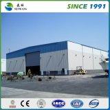 Гальванизированный оптовой продажей Prefab пакгауз стальной структуры