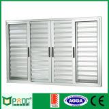Ventana barata del aluminio del precio/de aluminio del obturador (PNOC007LVW)