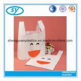 Kundenspezifische Drucken-populäres Shirt-kaufende Plastiktasche