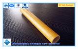 El tubo de plástico reforzado con fibra, fibra de vidrio pultrusión tubo, perfil de tubo de fibra de vidrio.