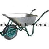 Carriola pneumatica della rotella del cassetto di plastica caldo di vendita (WB6414)