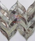 壁ペーパー支持されたウォータージェットの切子ガラスのモザイク(CFW52)