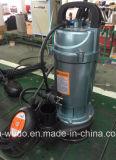 Qdx30-9-1.1f Dayuan 전기 잠수할 수 있는 수도 펌프, 부유물 스위치를 가진 1.1kw