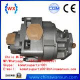 Wa450-3, Wa470-3 pompa hydráulica, bomba de engranaje, ensamblaje de la bomba, 705-52-40130, 705-52-40150
