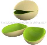 Dos tonos melamina Tuerca Bowl (BW271)