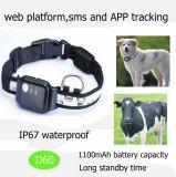 2017 GPS de venda quente Pets o perseguidor com IP67 D60 impermeável
