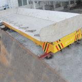 柵の薬剤の工場のための鉄道によってモーターを備えられる転送のトロリー