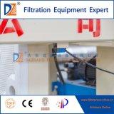 Hydraulische vertiefte 2017 Plattenfilter-Presse für Papierherstellung-Abwasser-Behandlung
