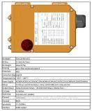 Système à télécommande sans fil industriel de F24-12s Telecrane pour des élévateurs