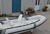 Liya 17ft Small Yacht Recreation Fishing Yacht Inflável Rib Boat