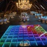 DJ miroir 3D d'éclairage LED pour le Club de plancher de danse Pub décoration