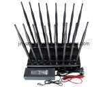 Registrabile tutto compreso delle antenne di alto potere 16 tutta l'emittente di disturbo del segnale del telefono delle cellule di frequenze