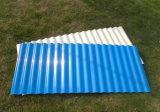 Strati di plastica ondulati del tetto di colore