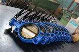 Válvula de borboleta Wafer com nenhum pino (D71X-10/16)