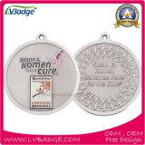 Медаль металла пожалования спорта подарка сувенира изготовленный на заказ бронзовое