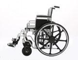 Manuel en acier, lourd, fauteuil roulant de bariatrique (YJ-010)
