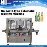 Máquina de etiquetado de papel adhesiva automática llena del palillo