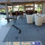 ヨーロッパの普及した屋外の木製の穀物WPCのデッキの床の敷物