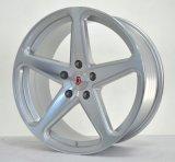 5つのスポークのVossenの合金の車輪