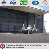 Sinoacme prefabriceerde de PoortHangaar van de Vliegtuigen van het Staal van het Frame