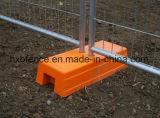Frontière de sécurité provisoire galvanisée soudée de treillis métallique