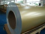Rodillo de acero prepintado del color de la bobina de la hoja de metal de la capa del color de las bobinas de PPGI