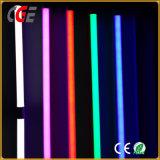 Indicatore luminoso del tubo di colore giallo di verde di colore rosso blu del cambiamento T8 LED Digital di colore del Rainbow