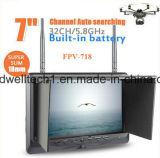 """Delgado monitor de 7 """"LCD con entrada HDMI para la fotografía aérea / Videografía"""