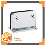 正方形90degree不動の浴室のガラスクランプ、ポーランド語またはサテンのシャワーのヒンジ