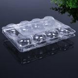 Emballage de nourriture à clapet transparent à usage unique supermarché végétarien / fruit / plateau à chaleur